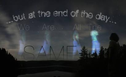 Photo-manipulation 3: Same