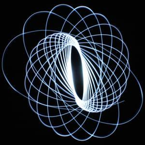 Gravitational Light Exposure 1