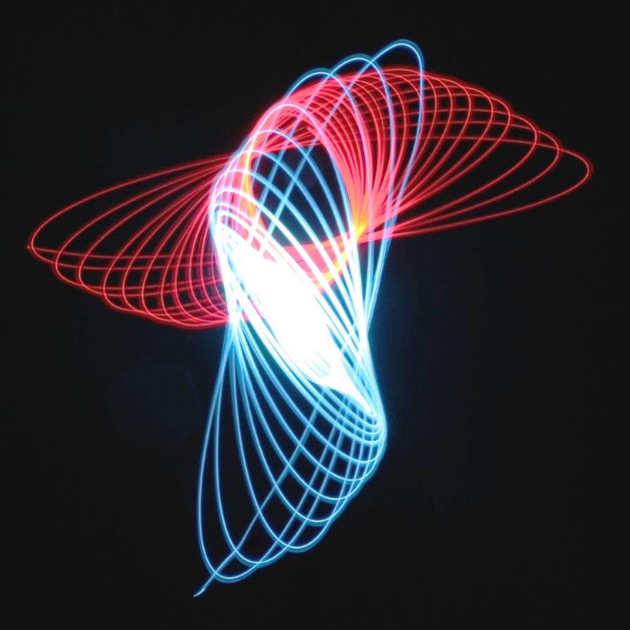 Gravitational Light Exposure 3 by Ph0Xy