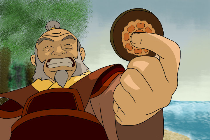 Iroh and the Lotus Tile by firebender-aaa on DeviantArt