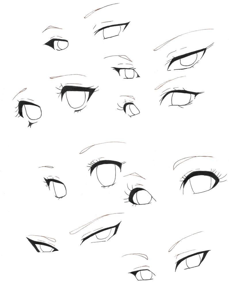 Line Art Eyes : Eyes line art free for use by naoko uchiha on deviantart