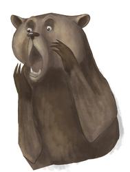 Bear meme by me by skycrap