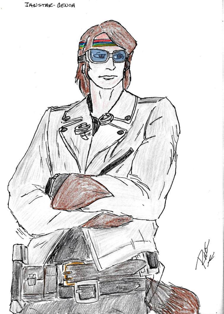 GENOA: Ianstar FB Coloured by fangarius