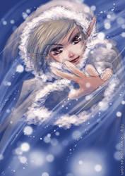 Snow Sorceress by apsylus