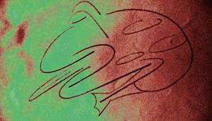Sleeping Toad by bradmesz