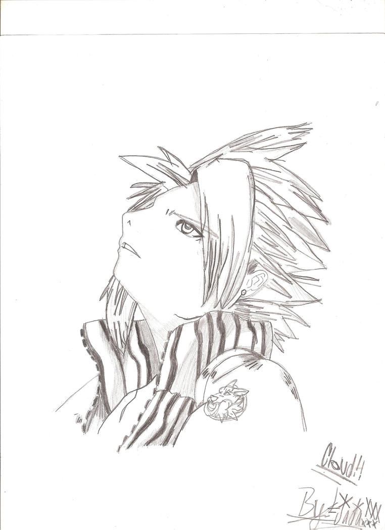 Cloud Strife by Ryasha14