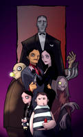 the addams family colored