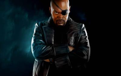 Nick Fury by callyrose