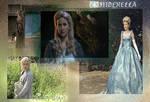 Cinderella and Ashley wallpaper