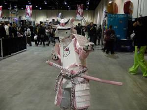 Calgary expo hello kitty samurai