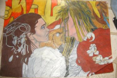 sara and jarith labrinth by callyrose