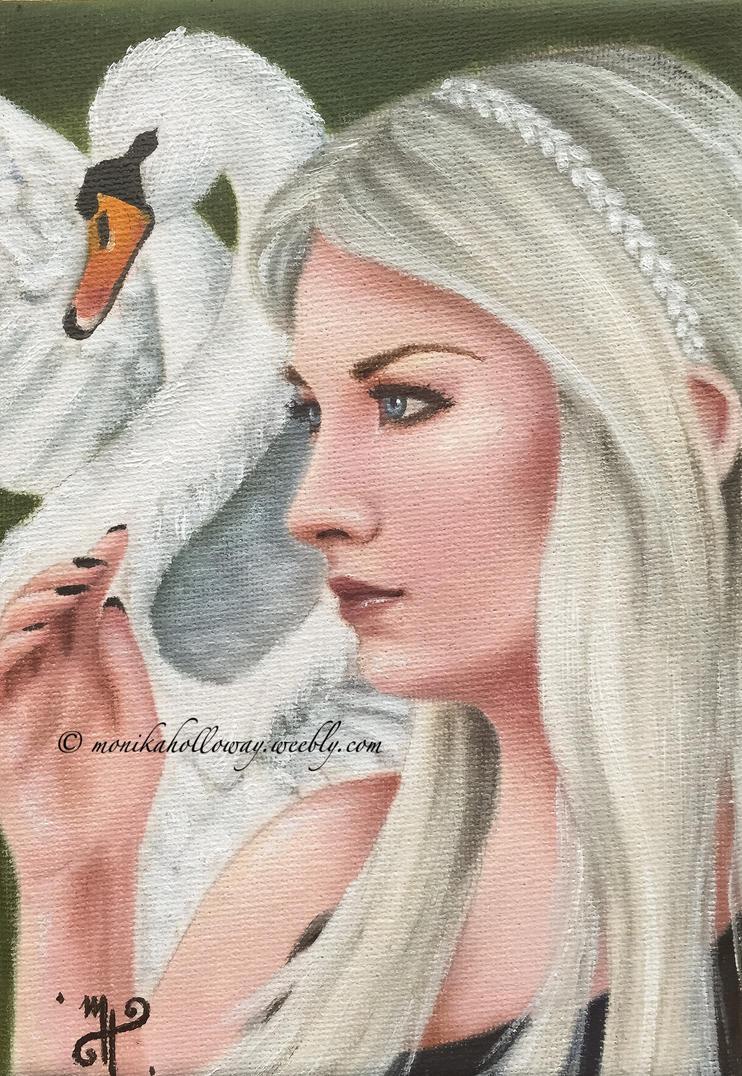 The Swan Queen by monikaholloway
