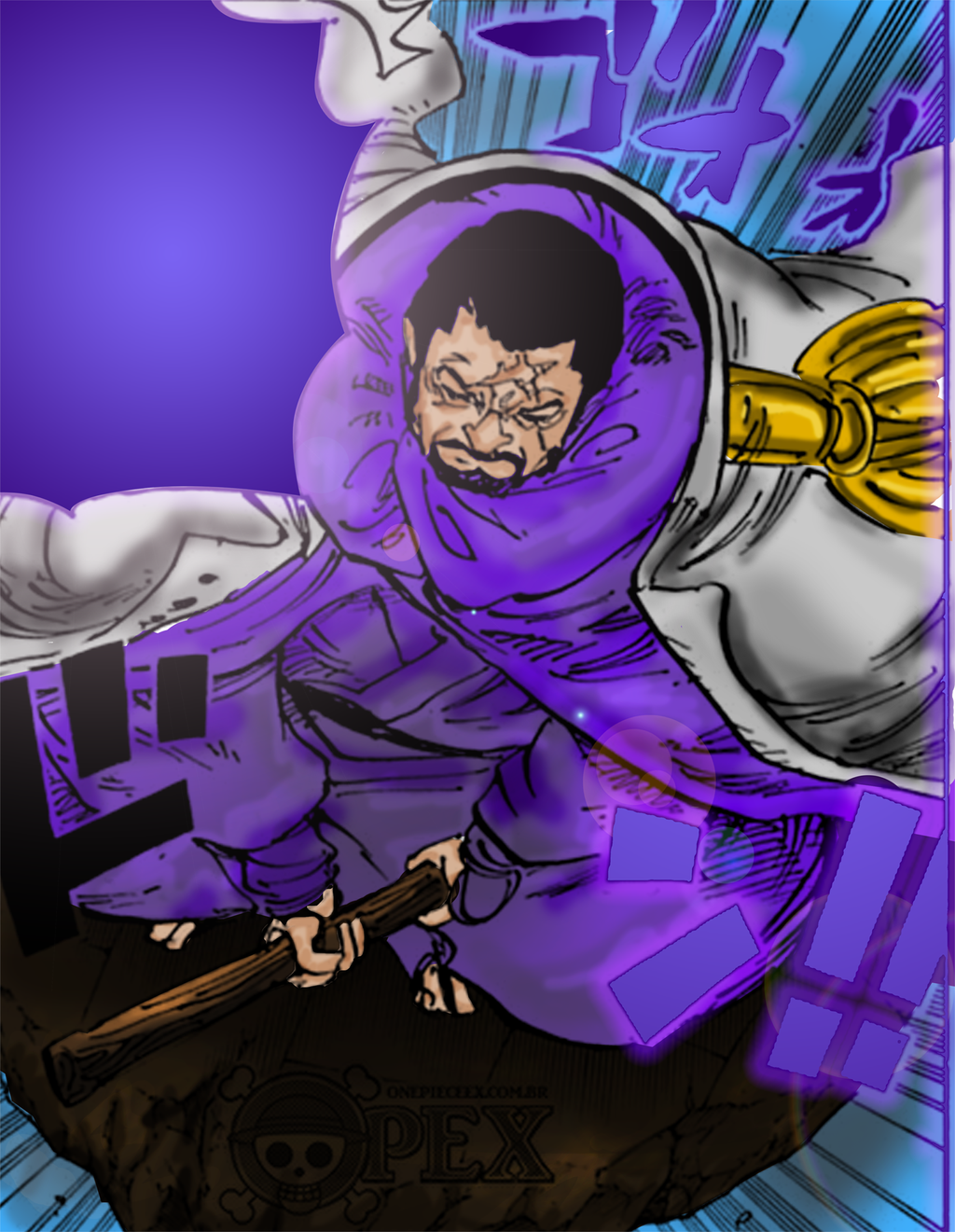 One Piece 797 Fujitora by rafaelconcept on DeviantArt