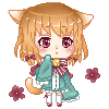 OC Gina Pixel Gift for Yan-chan! by KazumiMai