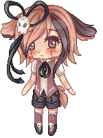 Pixel Page Doll For YuriKitten by icetree13