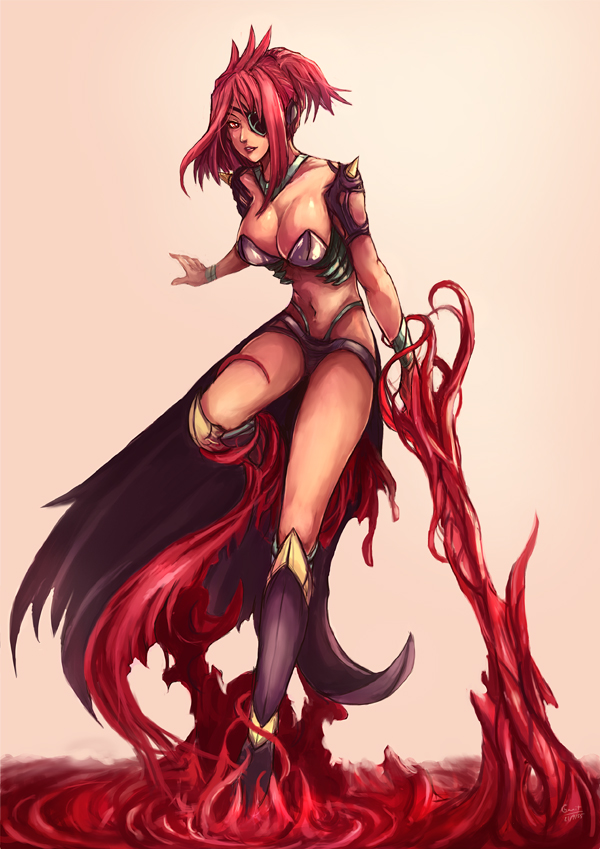 CM : Dilana , the bloodmancer by kachima