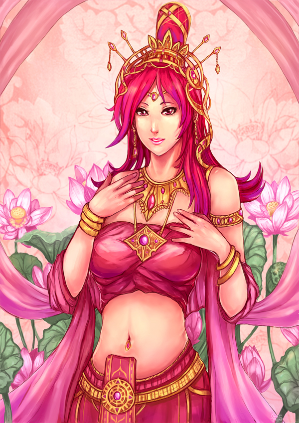 PJ : Lady Pink Lotus by kachima