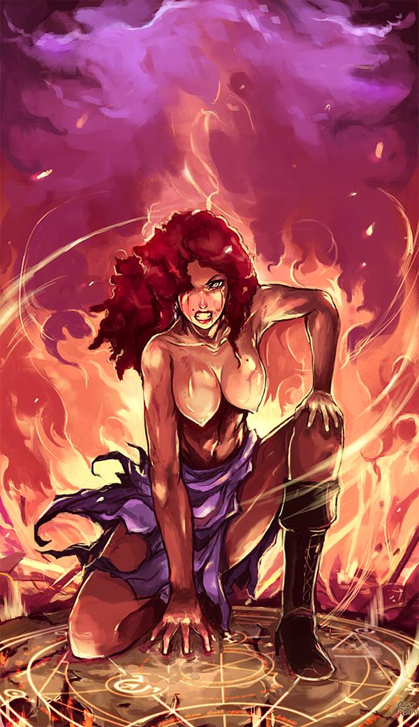 CM : Furious flame by kachima