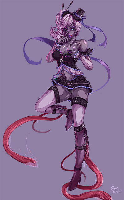 Cm: Monster Girl Solita by kachima