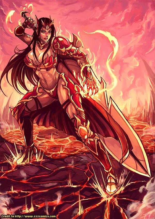 Cm Diana The Valkyrie Of Fire By Kachima On Deviantart