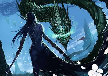 PJ : Guard of Nether World by kachima
