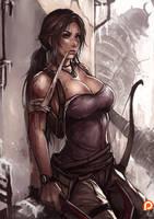 PT : Lara croft [UP SIZE] by kachima