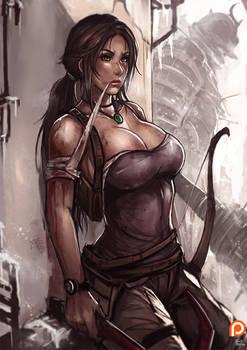 PT : Lara croft [UP SIZE]