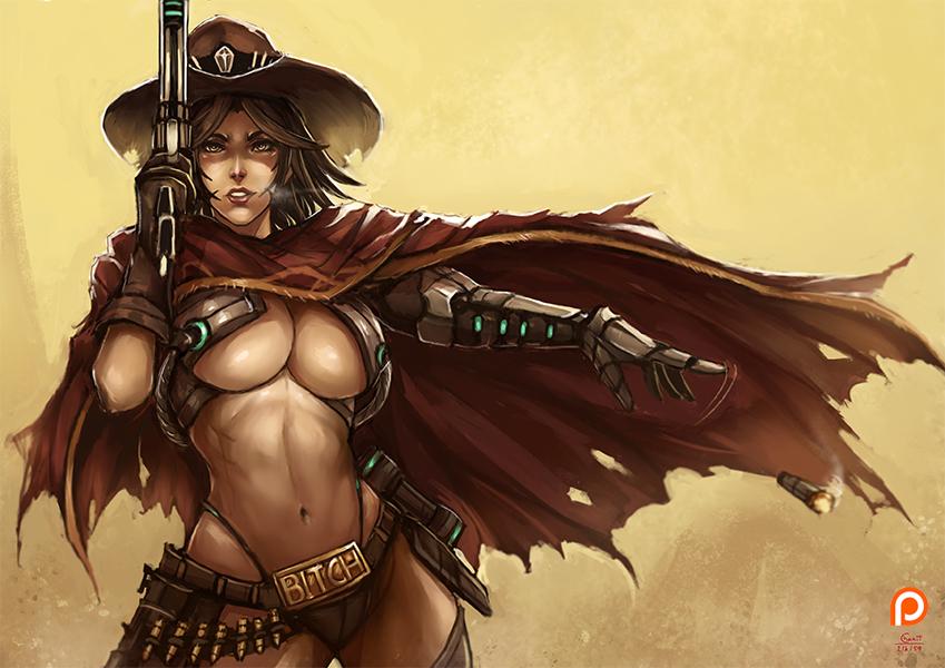 Mccree , Overwatch genderbrend [2] by kachima