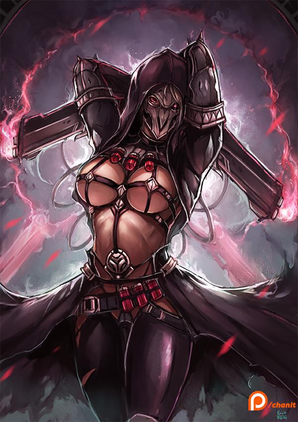 Reaper , Overwatch genderbend [3] by kachima
