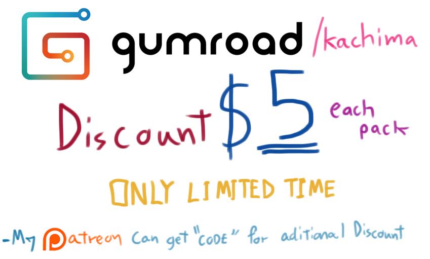 Gumroad Promo by kachima