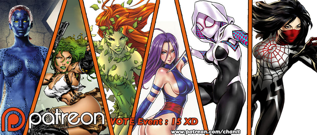 Vote 15 : Comic Babe by kachima