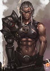 Reinhardt , Overwatch genderbend [5] by kachima