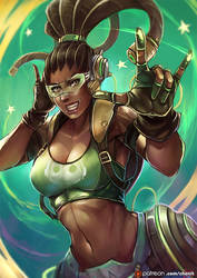 Luciona , OVERWATCH Genderbend [9]