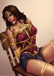 CM : Wonder woman BD [Movie version] by kachima