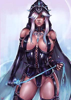 PT : Ashe LOL , Mistress costume version