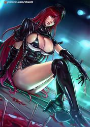 Dark Nurse Katarina by kachima