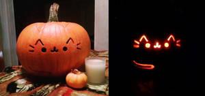 Pusheen Pumpkin