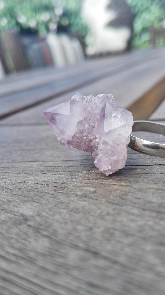 Spirit Quartz Ring by PyroMorpho