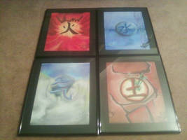 The Four Elements by Konack1