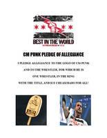 CM Punk Pledge of Allegiance by Konack1