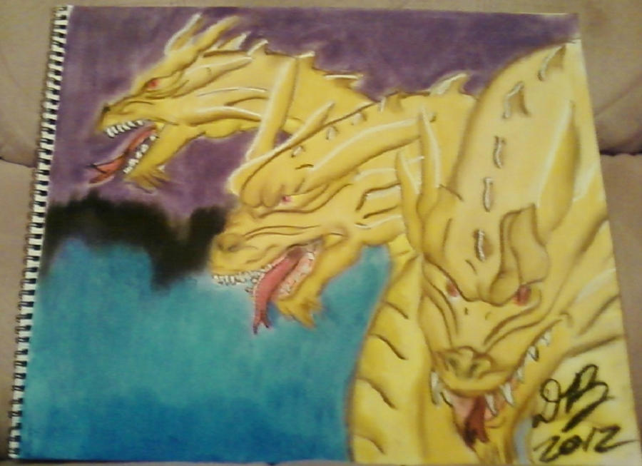Ghidrah/King Ghidorah by Konack1
