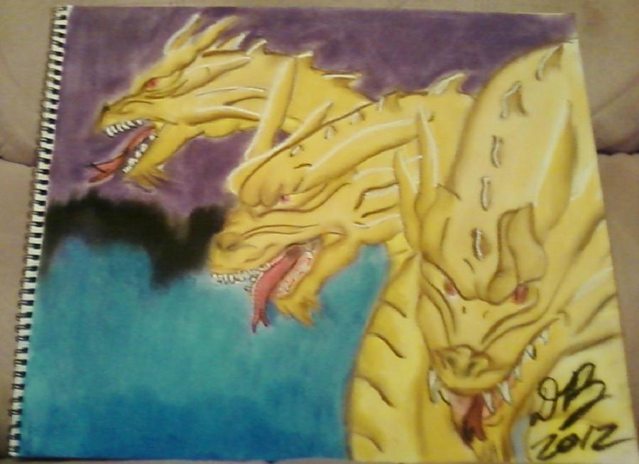 Ghidrah/King Ghidorah by Konack1