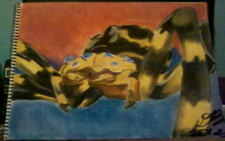 Kumonga, the Giant Spider by Konack1