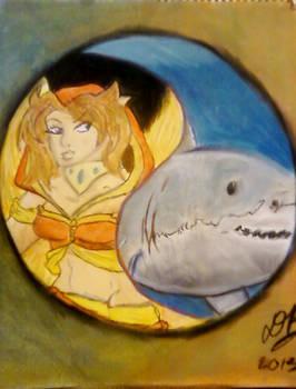 Fire-Fairy / Shark yin-yang