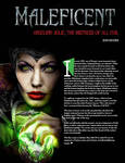 10 InDesign - Maleficent