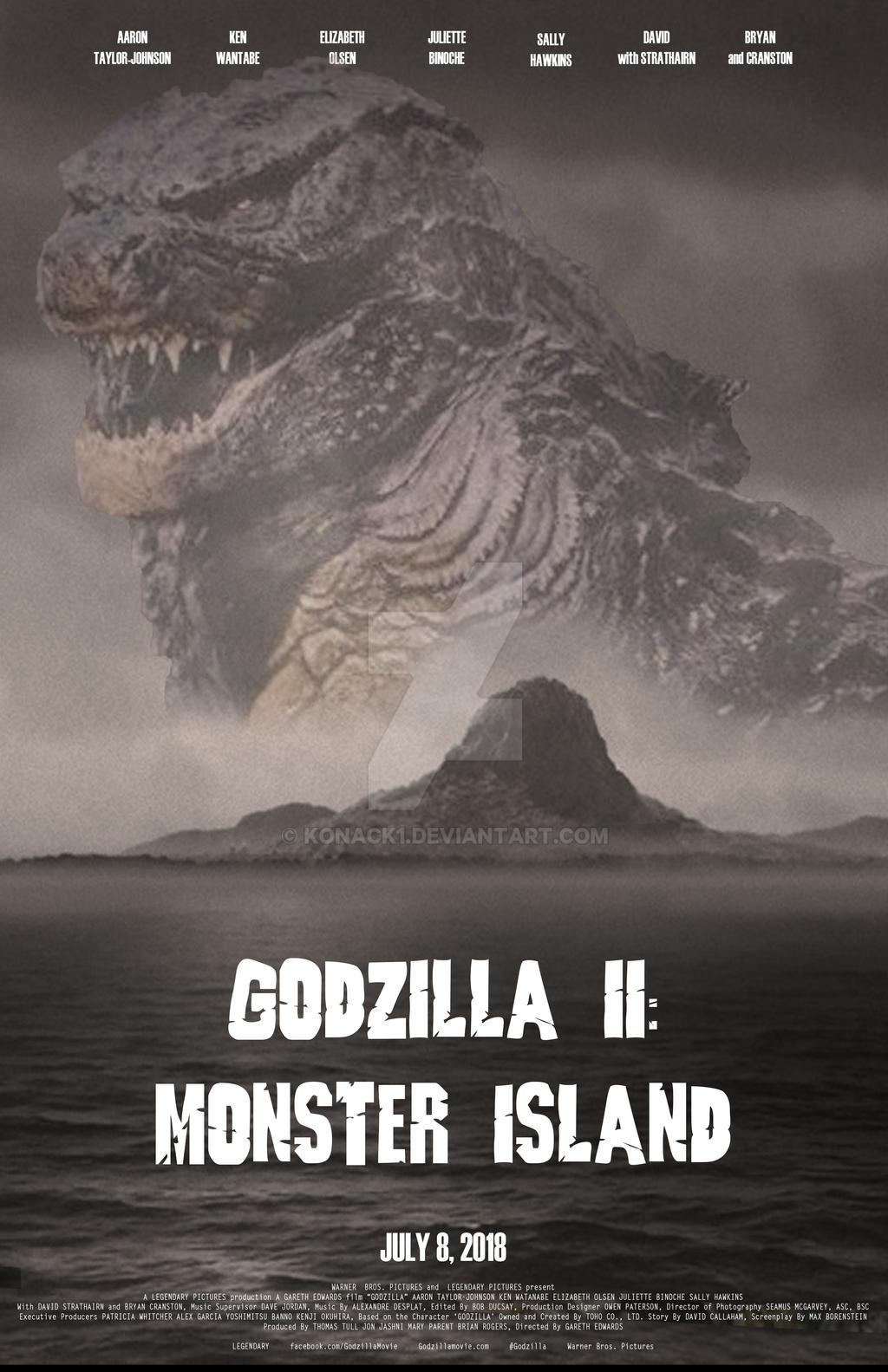 Godzilla II: Monster Island, poster 2 by Konack1 on DeviantArt