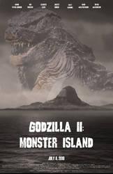Godzilla II: Monster Island, poster 2