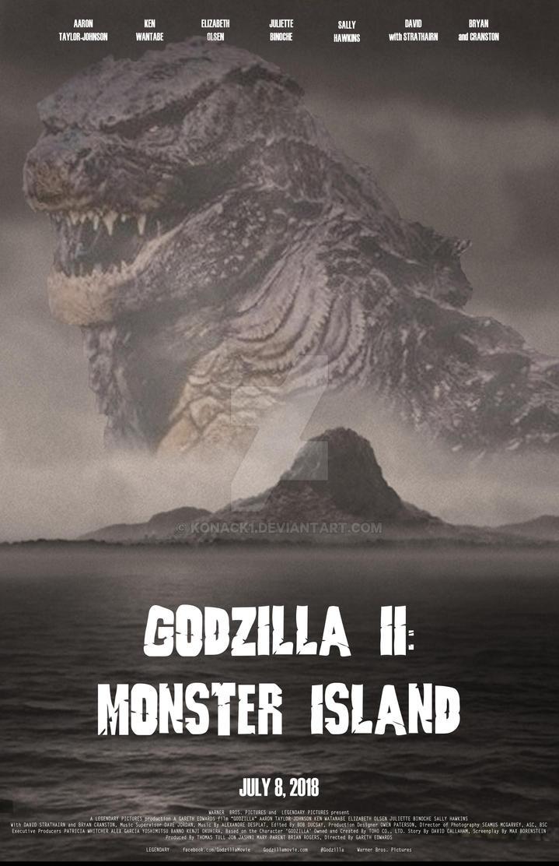 Godzilla II: Monster Island, poster 2 by Konack1
