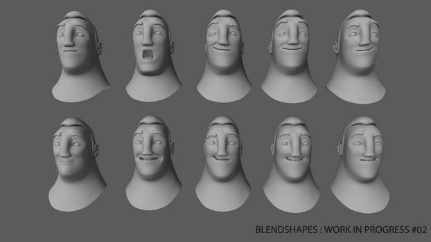 WIP - Blendshapes