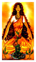 Parvati by Polemokrateia